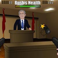 Flashjáték készült a megdobált Bushról