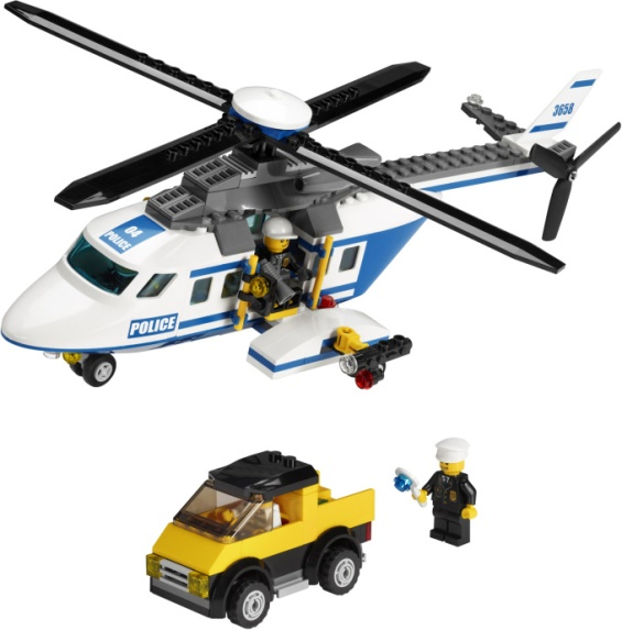 lego police helicopter instructions 3658