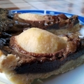 Körtés-barackos pite csokival, mazsolával