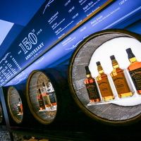 Jack Daniel's 150 Pop Up Bar