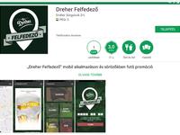 Dreher Felfedező app