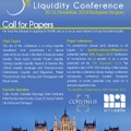 Call for papers: 5th Annual Financial Market Liquidity Conference, Budapest