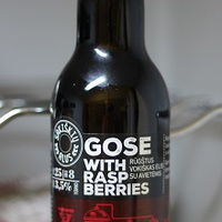 Sakiškių Gose With Raspberries