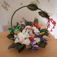 Anyák napi virágkosár