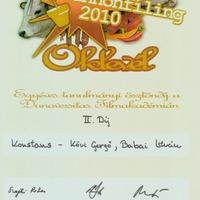 Pannonfíling Fesztivál: II. helyezés
