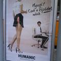Bugyit villant a Humanic