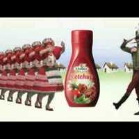 A csujogató Univer ketchup