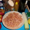 Almás-fahéjas csirkemell