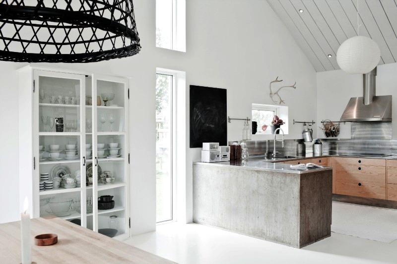 Beton a konyhában