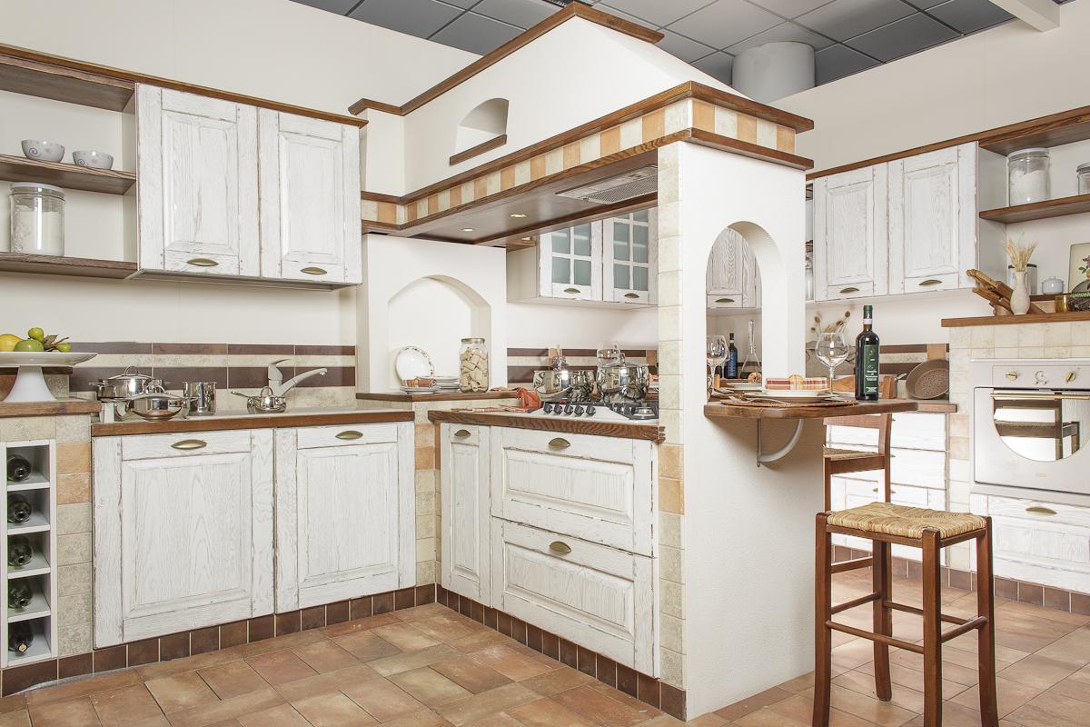 Emejing Cucina Muratura Bianca Contemporary - Home Interior Ideas ...