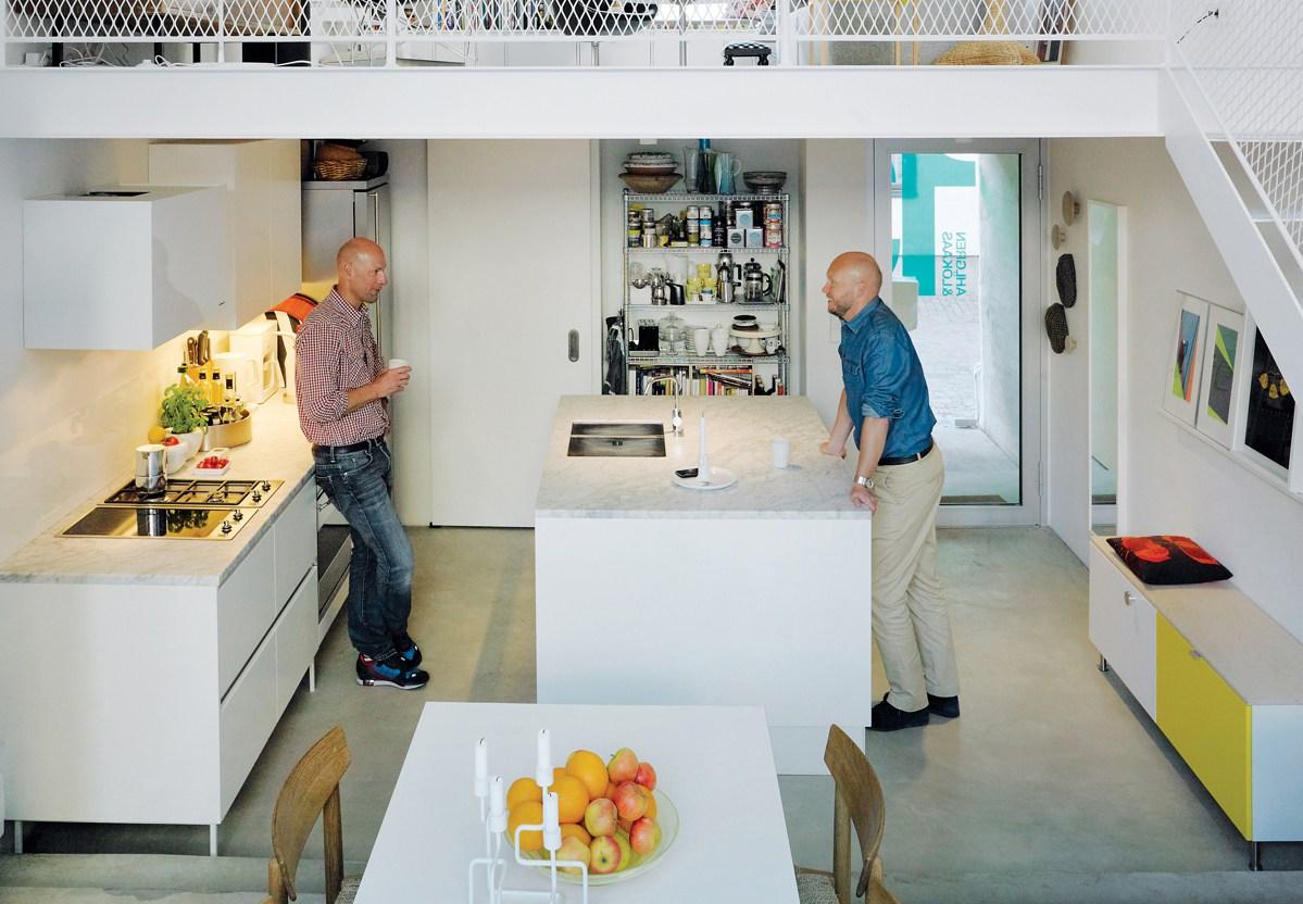 Minimál építészkonyhák