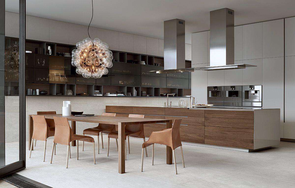Nem minimális luxus - Olasz konyhák: Varenna - Konyhasziget