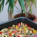 Szűzérme mediterrán zöldségágyon