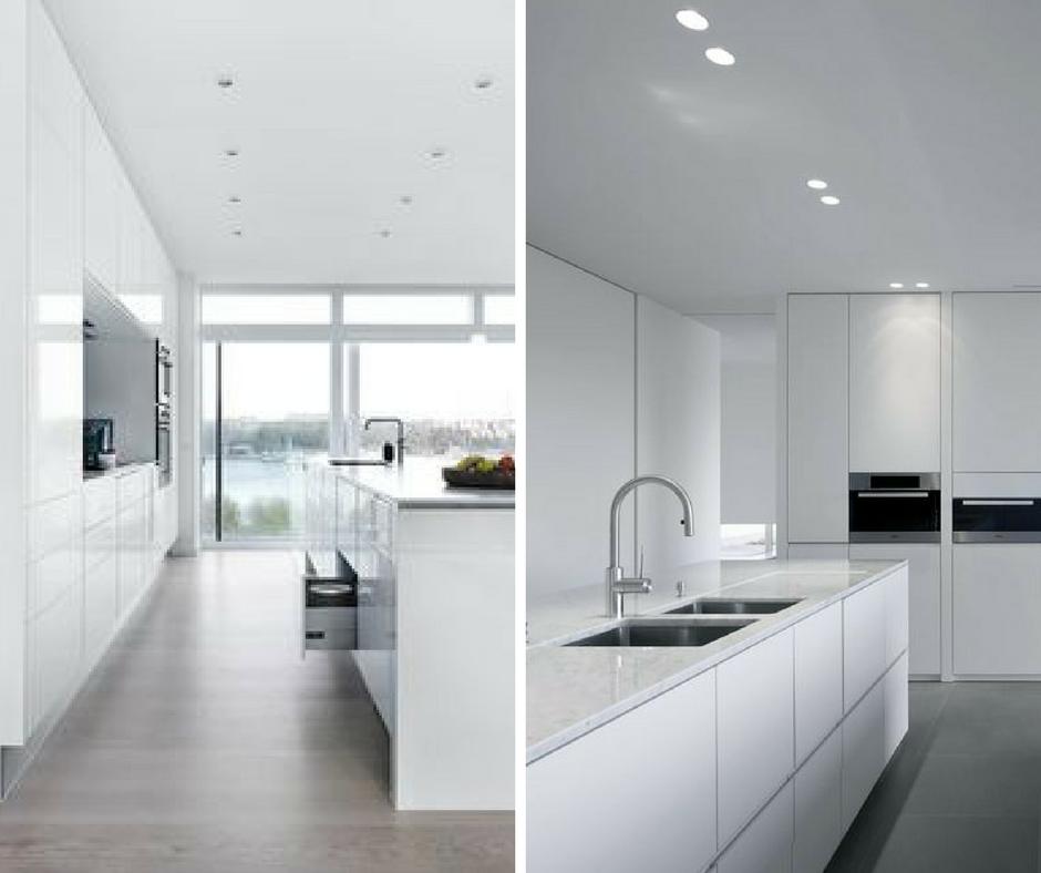 Izgalmas variációk fehér konyhára - Konyhatrend