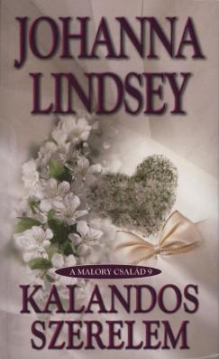 Kalandos Szerelem borító - Johanna Lindsey