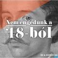 Márványasztal, Petőfi diákcsínyei és a két eredeti Nemzeti dal