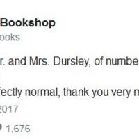Soronként posztolja a Harry Pottert egy könyvesboltos a Twitteren