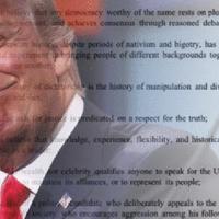 427 író Donald Trump ellen