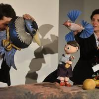Szamárfejű nő varázsolta el a gyerekeket a Nemzeti Galériában