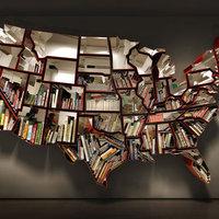 USA egy könyvespolc