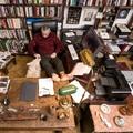 Így néz ki Csányi Vilmos dolgozószobája