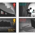 Titokzatos bélyegekkel tiszteleg Agatha Christie előtt a brit királyi posta