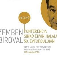 Sinkó Ervin - Hogyan ütközött az ideológia az érzékelt valósággal?
