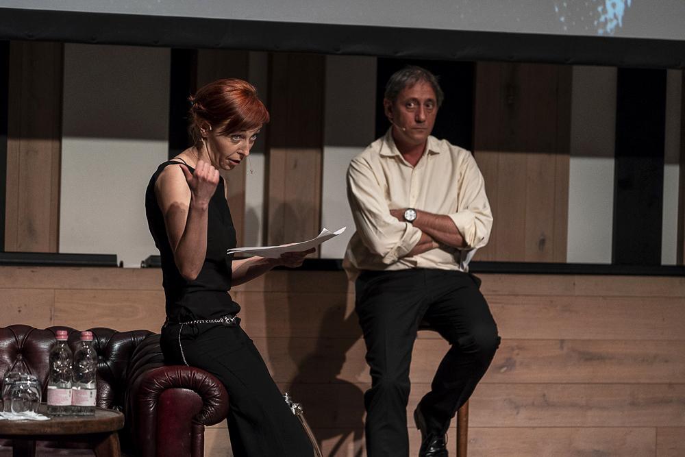 Albert Csilla és Dimény Áron felolvasnak az Omertából