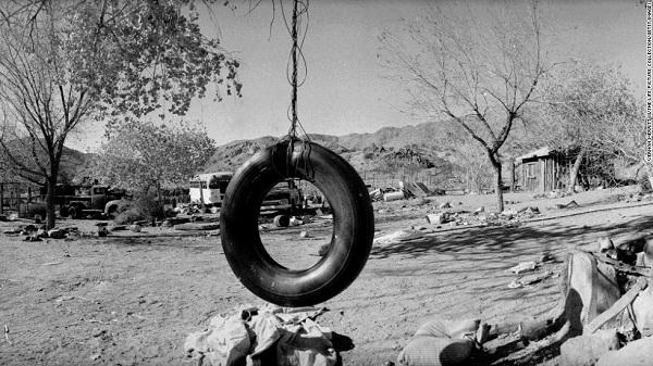 Manson és követői a Barker Ranchon éltek