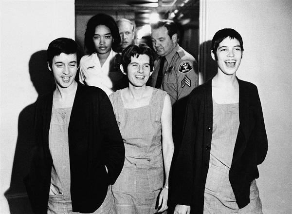 Atkins, Krenwinkel és Van Houten 1971-ben
