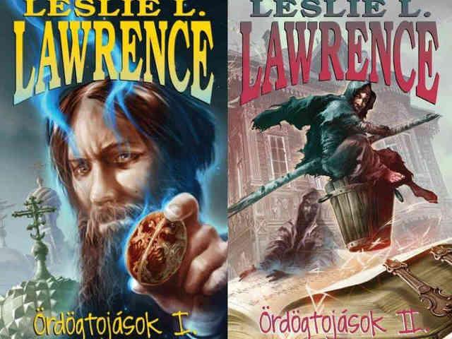 Új LESLIE L. LAWRENCE könyv a láthatáron! - Érkezik az Ördögtojások I-II.
