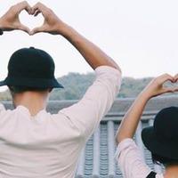Valentin-nap koreai módra