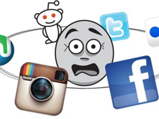 Több közösségi média oldal - több idő?