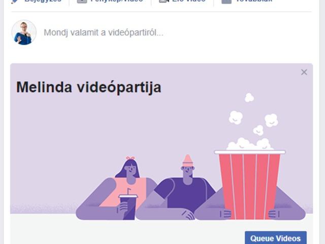 Indul a Facebook videóparti!