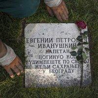 Egy belgrádi sírkő