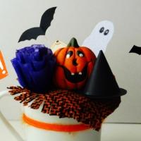 DIY Halloween bögre dekor + JÁTÉK