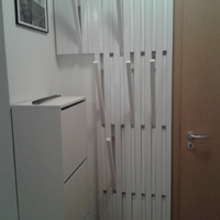 Minimalista előszobafal