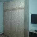 Fenyő gardrób szekrény