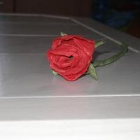 Kreatív tavasz - papírzsinórból rózsát egyszerűen