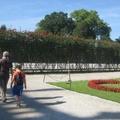 Kertek máshol - 8. Schönbrunn megint, Labirintus-kert