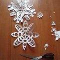 Készítsünk hópelyhet papírból