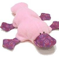 Rózsaszín kacsa szabásmintával