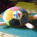Teknős - körte - táska