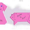 Origamis malackák