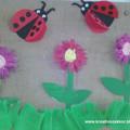 Papírguriga virágok