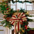 Karácsonyi lakásdíszek - girland és fenyő