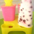 Gyümölcsös jégkrémek házilag