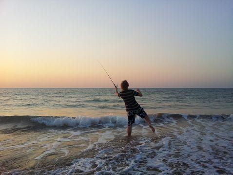 Mai horgászás