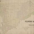 693. A püspöki határ tagosított térképe