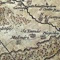 623. Vas megye földrajzi térképe 1785. (részlet)